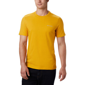 Columbia Rapid Ridge Back Graphic Tee Men bright gold csc textured dot